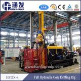 Machine de forage Hfdx-4 pour l'exploration minière/exploitation de carrières de pierre plate-forme hydraulique sur chenilles