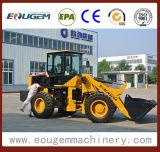 Eougem 2.8tonの中国の車輪のフロント・エンドローダー
