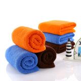 中国のカスタムカラーは浴室の供給のための綿タオルを染めた
