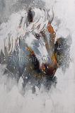 De Kunst van de Muur van het Olieverfschilderij van de reproductie voor Paard
