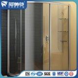 La ISO de suministro de fábrica de perfiles de aluminio para el cuarto de baño / WC partición