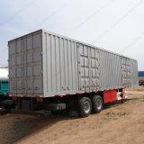 De Semi Aanhangwagen van de Doos van de Lading van de Tri Axles Van Vrachtwagen van het Lichaam met Uitstekende kwaliteit