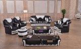 Il sofà di cuoio puro del più nuovo salone moderno ha impostato (LZ-1888)