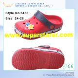Factory Light Up LED Shoes Clog enfant avec charme