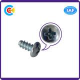 Carbon-Steel DIN/ANSI/BS/JIS/Stainless-Steel 4.8/8.8/10.9 плоский кабель винты Phillips/перекрестной головки лотка Self-Tapping