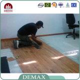 Plancher desserré commercial Malaisie de PVC de configuration de haute performance