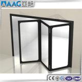 Portello di piegatura di alluminio della Bi con singolo doppio vetro