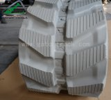 graue Spur-Gummi-Spur des Exkavator-300*52.5n*72