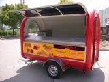 Tenda elétrica móvel do reboque do carro do alimento da refeição rápida