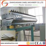 Linea di produzione automatica della scheda della gomma piuma del PVC con il doppio estrusore a vite