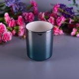 Ombreの陶磁器の蝋燭ホールダー