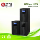 UPS en línea 6kVA 10kVA la monofásico de la fuente de alimentación continuo
