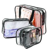 Waterproof Cheap Gift Cosmetic/Makeup Clear Storage Travel Storage Wash Bag