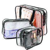 Regalos baratos impermeable/cosméticos maquillaje claro de viajes Bolsa de lavado de almacenamiento almacenamiento