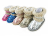 Lantejoulas Nice botas de neve no inverno quente para as meninas Wonmen