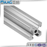 6063 판매에 T5에 의하여 양극 처리되는 산업 T 슬롯 알루미늄 밀어남 단면도