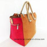 Nuova signora Fake Suede Handbags (NMDK-051901) del prodotto di modo