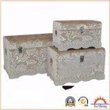 Tissu en tissu floral en bois à 3 côtés