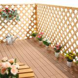 Новаторские товары легкой крыши Click покрывают плитки пола Hotsale деревянного пластичного составного Decking синтетические в Тунисе