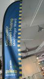 Bandierina personalizzata di volo della piuma della spiaggia del Teardrop del Palo della vetroresina (SU-FG7)
