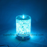 Draagbare Elektrische LEIDENE van de Mist van het Aroma van de Vochtigheid Verspreider met 3D Dekking van het Glas