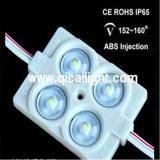 Inyección impermeable 2835 con el módulo de la lente LED