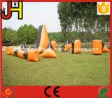 거대한 위장 팽창식 방탄호 필드 Paintballs