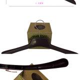 Perchas de ropa plegables planas para la ropa de la marca de fábrica del Mens de la visualización