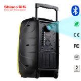 Haut-parleur actif Actif Shinco projecteur avec Bluetooth & Big batterie