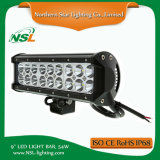 9 '' 54W Waterproof LED Light Bar Offroad Driving Truck Carro lâmpada Jeep, ATV, UTV, Ute, SUV. 4WD CREE LED Bar Acessórios para carro