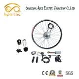 Kit eléctrico engranado 350W ajustable de la bici de la velocidad 36V con la batería de litio de Panasonic