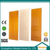 Porta de painel interior de madeira cinzelada clássico com projetos do painel