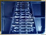 El mejor sistema de herramienta vendedor europeo de la carretilla 249PCS en las bandejas plásticas que embalan (FY249A)