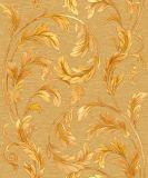 Papier de mur métallique d'or de clinquant d'usine de papier peint de la Chine pour la décoration intérieure