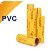 El abrigo plástico aprobado por la FDA del PE/PVC de la categoría alimenticia se aferra película