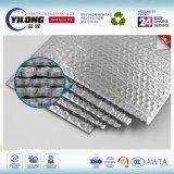 Materiale di isolamento di alluminio riflettente radiante della stagnola della bolla per il tetto della costruzione