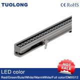 36W delgado de pared LED Reflector DC24V RGB LED arandela de la pared