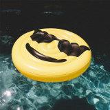 160cm Durchmesser-Ausdruck Belüftung-aufblasbares Gesichts-runder Pool-Gleitbetrieb