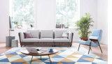Heißer Verkaufs-preiswertes Wohnzimmer-Gewebe-Sofa gesetztes E1702