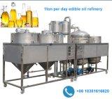 raffinage d'huile comestible 1.5-2tonne de pétrole brut de la machine de purification de l'huile de filtration raffineur