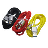 iPhone 인조 인간을%s 색깔 1m 3FT 번개 또는 마이크로 USB/Type-C 책임 케이블