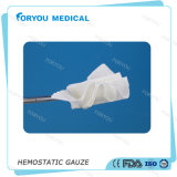 Échantillons gratuits Medical Solubel Hemostatic Wound Gauze with Ce FDA