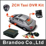 中国からの卸し売り2CH SDのカードの監視車移動式DVR