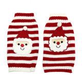 Chandails 2016 de tricotage rouges d'animal familier de Noël du père noël de dessin animé
