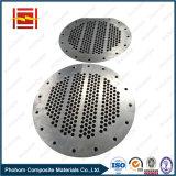 Plaque de titane en métal plaqué explosif pour plaque de revêtement de réservoir à pression / titane