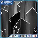 Profils en aluminium normaux de construction d'en pour la porte de guichet en aluminium