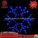 Outdoor Xmas Window Decoration Crystal LED Snowflake Light