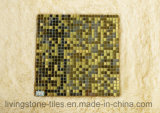 Het gouden Mozaïek van de Kleur van het Mengsel voor Achtergrond