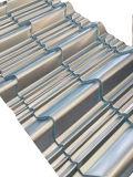 يزجّج قرميد لف يشكّل آلة لأنّ معدن يغضّن سقف لوح