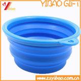 Alta calidad de la bandeja de colorido tazón Ketchenware silicona (YB-HR-50)